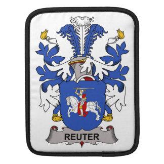 Escudo de la familia de Reuter Fundas Para iPads