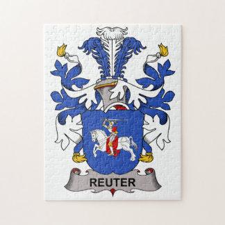 Escudo de la familia de Reuter Rompecabeza Con Fotos