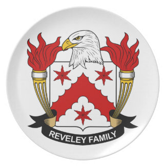 Escudo de la familia de Reveley Platos