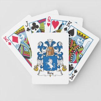 Escudo de la familia de Rey Baraja Cartas De Poker