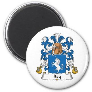 Escudo de la familia de Rey Imán Redondo 5 Cm
