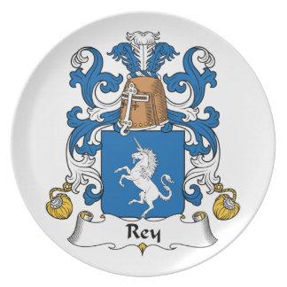 Escudo de la familia de Rey Platos
