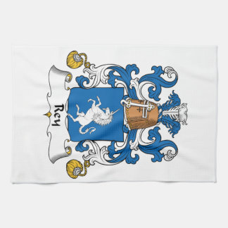 Escudo de la familia de Rey Toallas De Mano