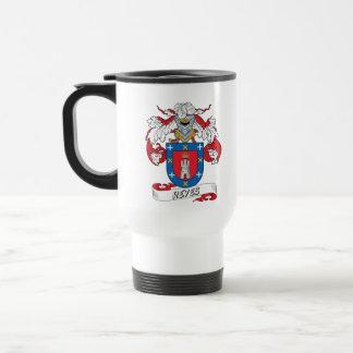 Escudo de la familia de Reyes Taza De Viaje