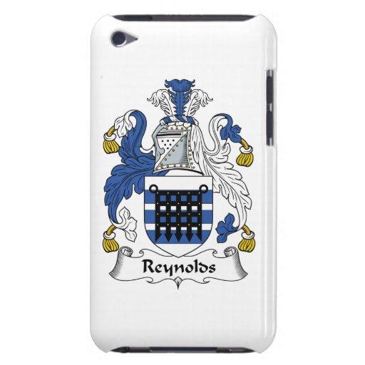 Escudo de la familia de Reynolds Barely There iPod Carcasa