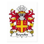 Escudo de la familia de Reynolds Postal