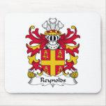 Escudo de la familia de Reynolds Alfombrilla De Ratón