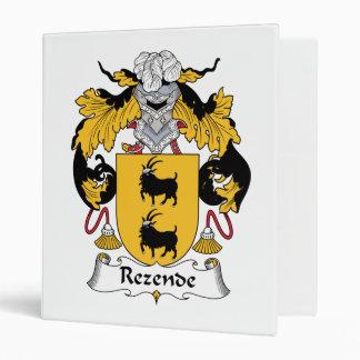 Escudo de la familia de Rezende