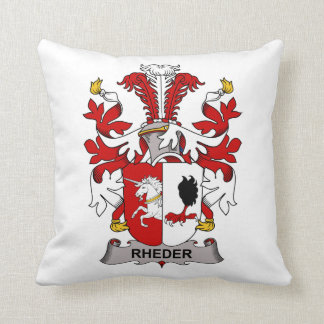 Escudo de la familia de Rheder Cojín