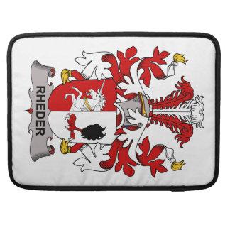 Escudo de la familia de Rheder Funda Macbook Pro