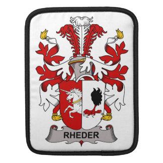 Escudo de la familia de Rheder Fundas Para iPads