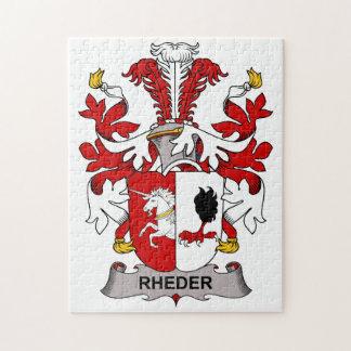 Escudo de la familia de Rheder Rompecabeza