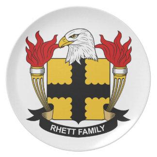 Escudo de la familia de Rhett Plato De Cena