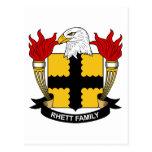 Escudo de la familia de Rhett Postal