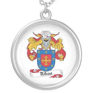 Escudo de la familia de Ribas Pendientes Personalizados