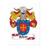 Escudo de la familia de Ribas Postales