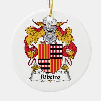 Escudo de la familia de Ribeiro Ornamentos De Reyes Magos