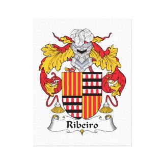 Escudo de la familia de Ribeiro Impresiones En Lona