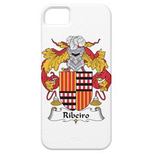 Escudo de la familia de Ribeiro iPhone 5 Carcasas