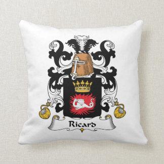 Escudo de la familia de Ricard Almohadas