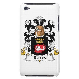 Escudo de la familia de Ricard Barely There iPod Coberturas