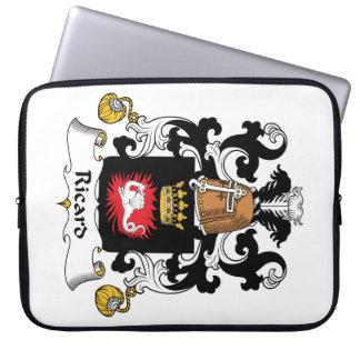 Escudo de la familia de Ricard Funda Ordendadores