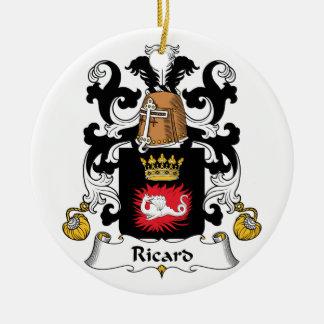 Escudo de la familia de Ricard Ornamentos De Reyes