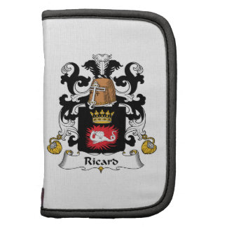 Escudo de la familia de Ricard Planificador