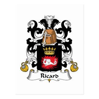 Escudo de la familia de Ricard Postales