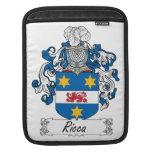Escudo de la familia de Ricca Fundas Para iPads