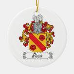 Escudo de la familia de Riccio Ornamente De Reyes