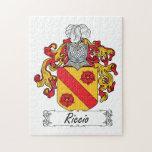 Escudo de la familia de Riccio Puzzle