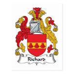 Escudo de la familia de Richard Postal