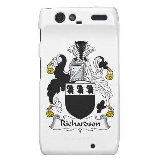 Escudo de la familia de Richardson Droid RAZR Funda