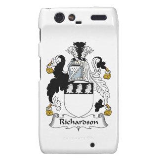 Escudo de la familia de Richardson Motorola Droid RAZR Fundas