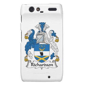 Escudo de la familia de Richardson Motorola Droid RAZR Carcasas