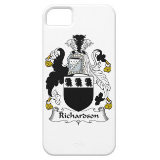 Escudo de la familia de Richardson iPhone 5 Carcasas
