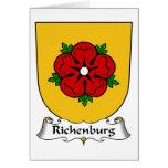 Escudo de la familia de Richenburg Tarjetón