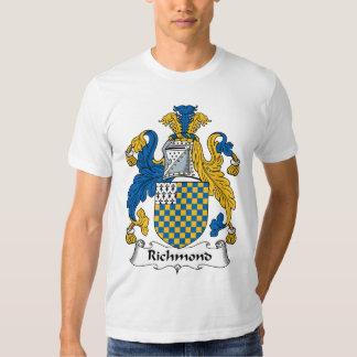Escudo de la familia de Richmond Playeras