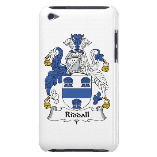 Escudo de la familia de Riddall iPod Touch Case-Mate Cárcasa