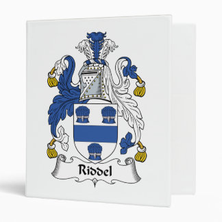 Escudo de la familia de Riddel