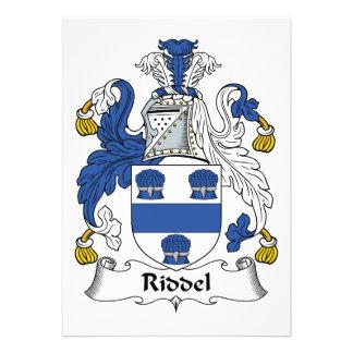 Escudo de la familia de Riddel Comunicados