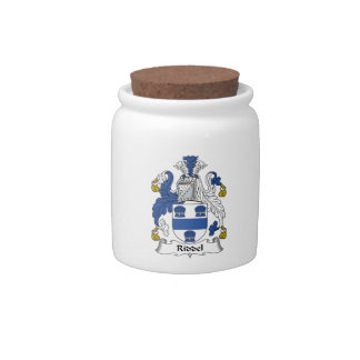 Escudo de la familia de Riddel Jarras Para Caramelos