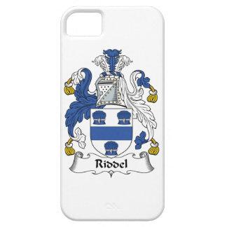 Escudo de la familia de Riddel iPhone 5 Case-Mate Carcasas
