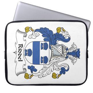 Escudo de la familia de Riddel Funda Portátil