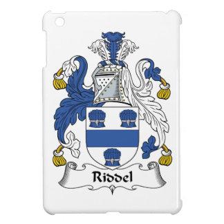 Escudo de la familia de Riddel iPad Mini Carcasa