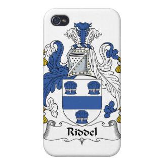 Escudo de la familia de Riddel iPhone 4 Protector