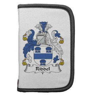 Escudo de la familia de Riddel Organizador