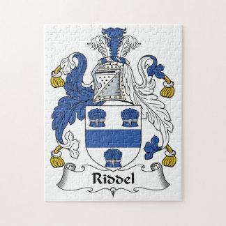 Escudo de la familia de Riddel Puzzles