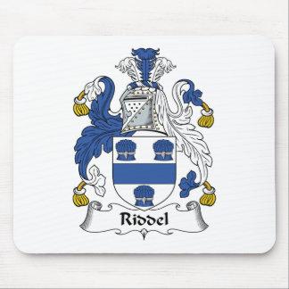 Escudo de la familia de Riddel Alfombrilla De Ratón